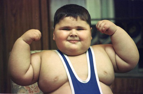 Fat Kid Flexing The Inner Fat Kid Comeback