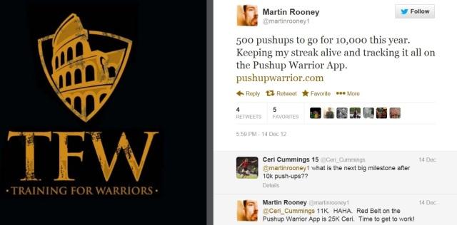 Martin Rooney - 10000 Push Up Streak